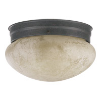 Quorum 3026-8-44 Signature 2 Light 9 inch Toasted Sienna Flush Mount Ceiling Light