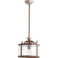 Quorum 3052-56 La Maison 1 Light 13 inch Manchester Grey Pendant Ceiling Light