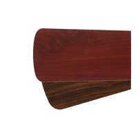 Signature Rosewood and Walnut 30 inch Set of 6 Fan Blade