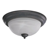 Quorum 3066-13-44 Signature 2 Light 14 inch Toasted Sienna Flush Mount Ceiling Light