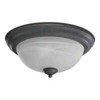 Quorum 3066-15-44 Signature 3 Light 16 inch Toasted Sienna Flush Mount Ceiling Light
