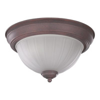 Quorum International Signature 2 Light Flush Mount in Cobblestone 3074-11-33
