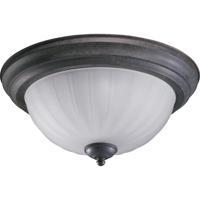 Quorum 3074-13-44 Signature 2 Light 14 inch Toasted Sienna Flush Mount Ceiling Light