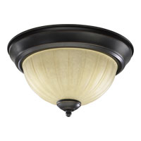 Quorum Signature 2 Light Ceiling Mount in Old World 3077-11-95