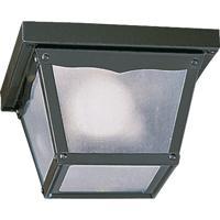 Quorum International Signature 1 Light Ceiling Lantern in Gloss Black 3080-7-15