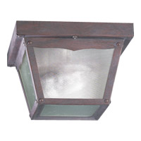 Quorum International Signature 1 Light Ceiling Lantern in Cobblestone 3080-7-33