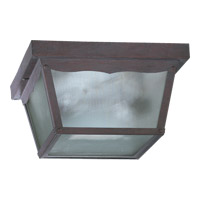 Quorum International Signature 2 Light Ceiling Lantern in Cobblestone 3080-9-33