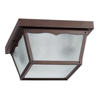 Quorum 3080-9-86 Signature 2 Light 9 inch Oiled Bronze Outdoor Ceiling Light