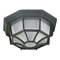 Quorum 3086-11-15 Signature 1 Light 5 inch Black Outdoor Wall Lantern