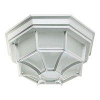 Quorum 3086-11-6 Signature 1 Light 5 inch White Outdoor Wall Lantern