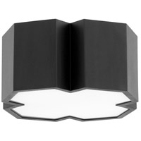 Quorum 3094-13-69 XT 2 Light 14 inch Noir Flush Mount Ceiling Light