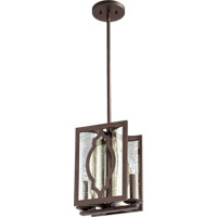 Ventana 2 Light 7 inch Oiled Bronze Pendant Ceiling Light