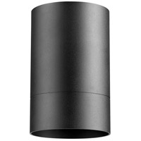 Quorum 320-69 Cylinder 1 Light 4 inch Noir Outdoor Flush Mount photo thumbnail