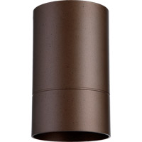 Quorum 320-86 Signature 1 Light 4 inch Oiled Bronze Outdoor Ceiling Mount