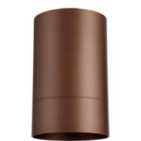 Signature 1 Light 6 inch Oiled Bronze Outdoor Ceiling Mount