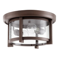 Mayfair 2 Light 13 inch Oiled Bronze Outdoor Ceiling