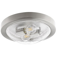 Quorum 3502-13-65 Fort Worth 2 Light 13 inch Satin Nickel Flush Mount Ceiling Light