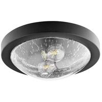 Quorum 3502-13-69 Fort Worth 2 Light 13 inch Noir Flush Mount Ceiling Light