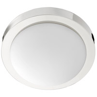 Quorum 3505-11-62 Signature 2 Light 11 inch Polished Nickel Flush Mount Ceiling Light