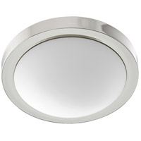 Quorum 3505-13-62 Signature 2 Light 13 inch Polished Nickel Flush Mount Ceiling Light