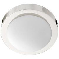 Quorum 3505-9-62 Signature 1 Light 9 inch Polished Nickel Flush Mount Ceiling Light