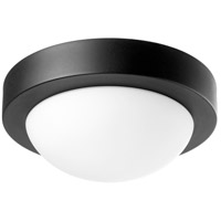 Quorum 3505-9-69 Signature 1 Light 9 inch Noir Flush Mount Ceiling Light Quorum Home