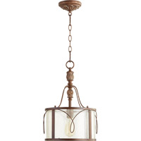 Quorum 3506-39 Salento 1 Light 12 inch Vintage Copper Pendant Ceiling Light
