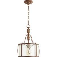 Quorum 3506-39 Salento 1 Light 12 inch Vintage Copper Pendant Ceiling Light