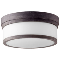 Celeste 2 Light 12 inch Zinc Flush Mount Ceiling Light