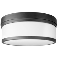 Quorum 3509-14-69 Celeste 3 Light 14 inch Noir Flush Mount Ceiling Light