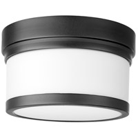 Quorum 3509-9-69 Celeste 1 Light 9 inch Noir Flush Mount Ceiling Light