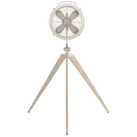 Quorum 35154-65 Mariana Satin Nickel 68 inch Pedestal Fan photo thumbnail