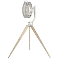Quorum 35154-65 Mariana Satin Nickel 68 inch Pedestal Fan alternative photo thumbnail