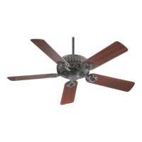 Empress 52 inch Toasted Sienna with Rosewood Blades Ceiling Fan