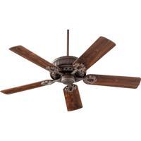 Quorum 35525-86 Empress 52 inch Oiled Bronze Ceiling Fan