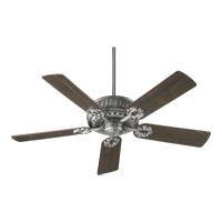 Empress 52 inch Antique Silver with Rosewood Blades Ceiling Fan