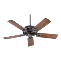 Quorum 35525-95 Empress 52 inch Old World with Rosewood Blades Ceiling Fan