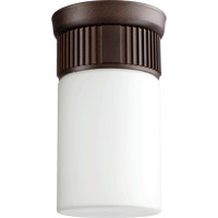 Quorum International Manhattan 1 Light Outdoor Ceiling Mount in Oiled Bronze 356-86