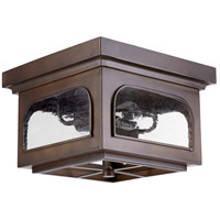 Fuller 13 inch Oiled Bronze Outdoor Ceiling Mount