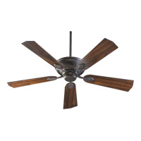 Quorum International Kingsley Ceiling Fan in Toasted Sienna 38525-44
