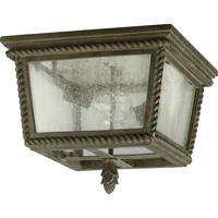 Quorum 3910-13-43 Rochelle 2 Light 14 inch Etruscan Sienna Outdoor Ceiling Light