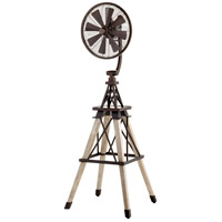 Quorum 39158-86 Windmill Oiled Bronze 69 inch Floor Fan