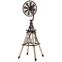 Quorum 39158-86 Windmill Oiled Bronze 69 inch Floor Fan