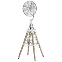 Quorum 39158-9 Windmill Galvanized 69 inch Floor Fan