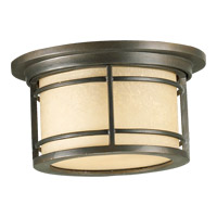 Quorum 3916-11-86 Larson 1 Light 6 inch Oiled Bronze Outdoor Wall Lantern