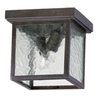 Quorum International Bourbon Street 2 Light Outdoor Hanging Lantern in Oiled Bronze 3919-9-86