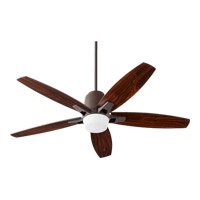 Quorum 39525-86 Metro 52 inch Oiled Bronze Ceiling Fan