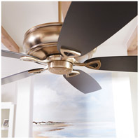 Quorum 40625-80 Alto 62 inch Aged Brass with Reversible Matte Black and Walnut Blades Ceiling Fan alternative photo thumbnail