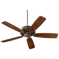 Alto 62 inch Oiled Bronze with Reversible Dark Oak and Walnut Blades Ceiling Fan