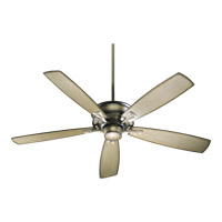 Quorum 42605-22 Alton 60 inch Antique Flemish with Antique Flemish and Pecan Blades Ceiling Fan